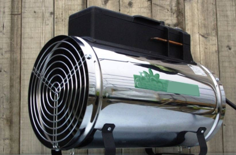 Electric Fan Heater for Greenhouse