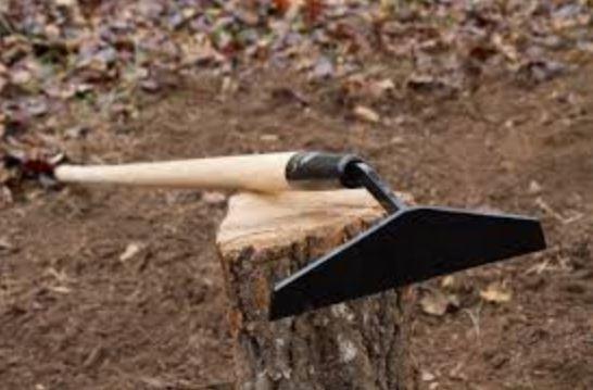 Collinear Hoe tool