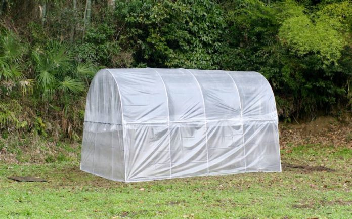 portable greenhouse for winter